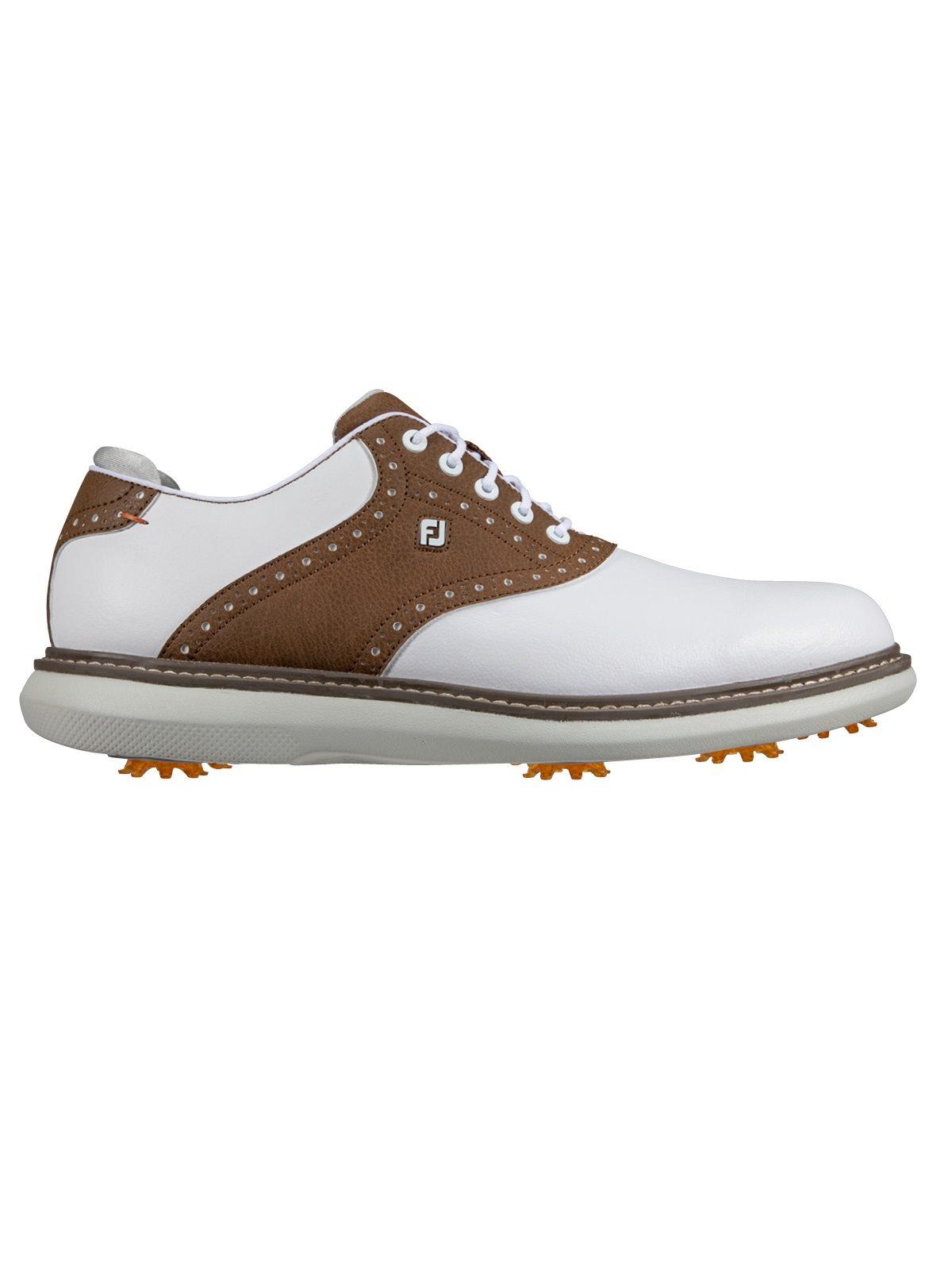 FootJoy heren golfschoenen Traditions wit-bruin