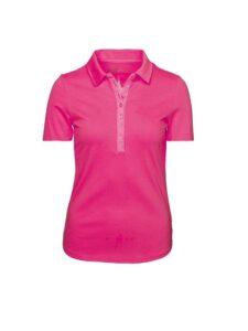 Girls Golf dames golfpolo Sophy korte mouw roze