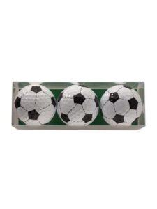 Sportiques golfballen Voetbal 3 stuks