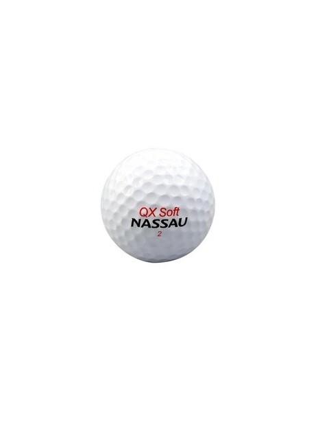 Nassau golfballen QX Soft wit