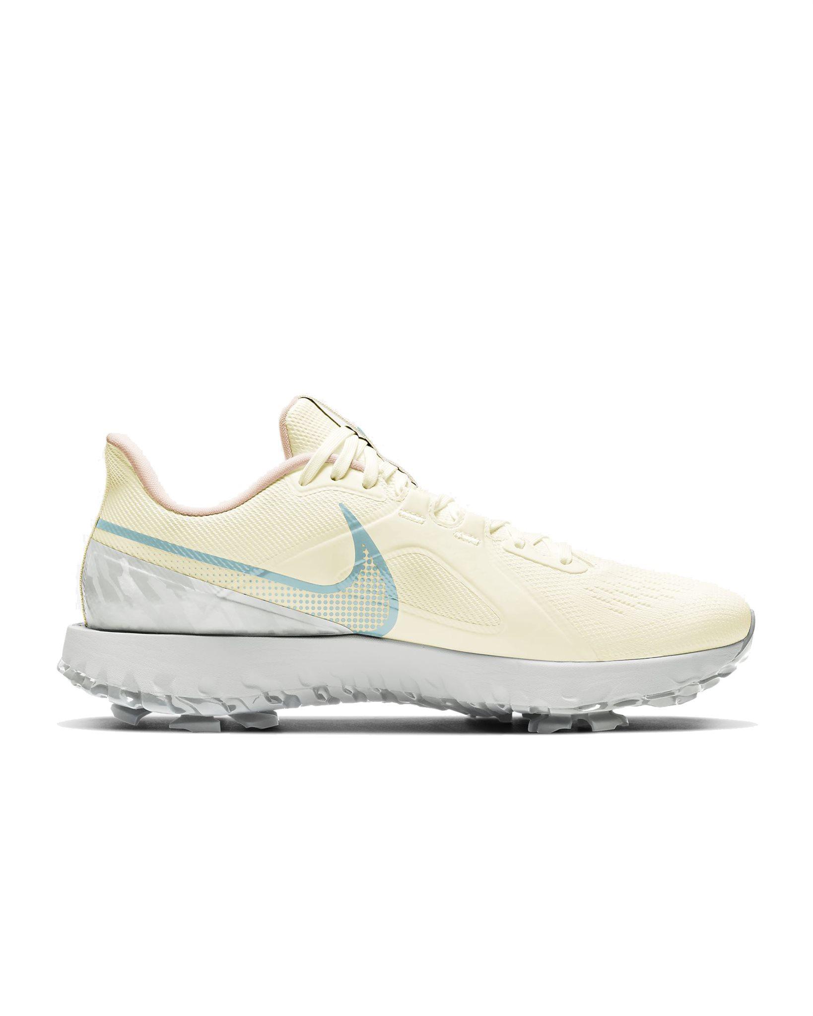 Nike unisex golfschoenen React Infinity Pro wit-groen