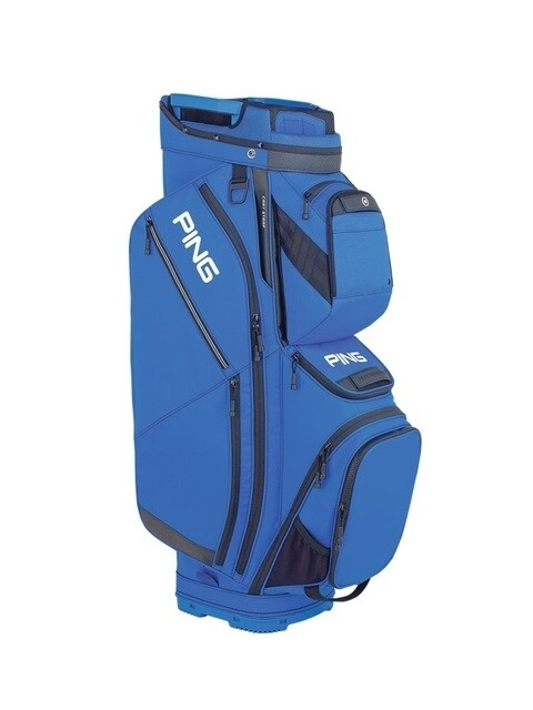 Ping golftas Pioneer Cart Bag blauw