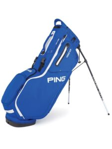 Ping golftas Hoofer Stand Bag blauw-wit