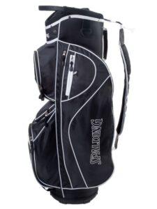 Spalding golftas CP 8.5 Cart Bag zwart-wit