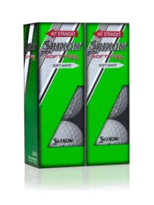 Srixon Soft Feel 6 pack golfballen wit