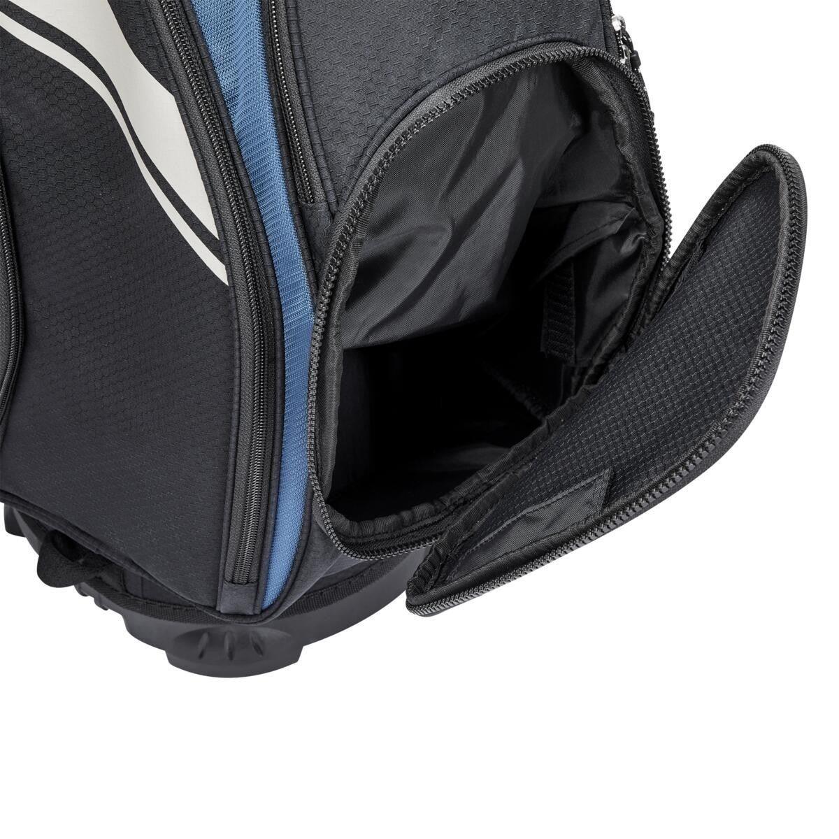 Wilson Staff golftas Exo II Cart Bag zwart-groen met dames purse