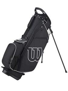 Wilson Staff golftas Prostaff Stand Bag zwart-wit