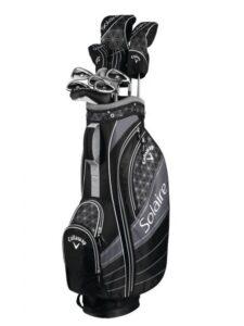 Callaway dames golfset Solaire graphite shafts 11pc
