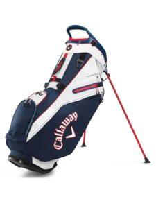 Callaway golftas Fairway 14 Stand Bag blauw-rood