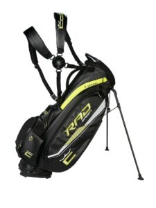 Cobra golftas RadSpeed Tour Stand Bag zwart
