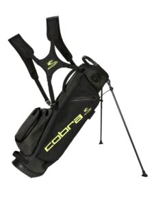 Cobra golftas Ultralight Sunday black-fluor geel