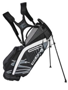 Cobra golftas Ultralight Stand Bag zwart