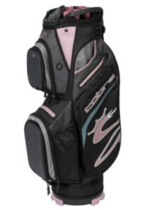 Cobra golftas Ultralight Cart Bag grijs-berry