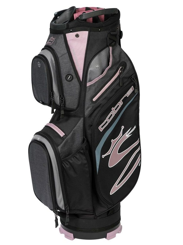 Cobra golftas Ultralight Cart Bag grijs-berry