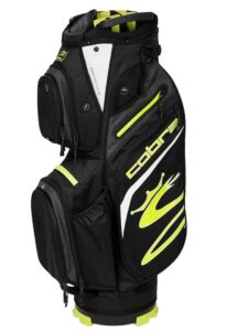 Cobra golftas Ultralight Cart Bag zwart-geel