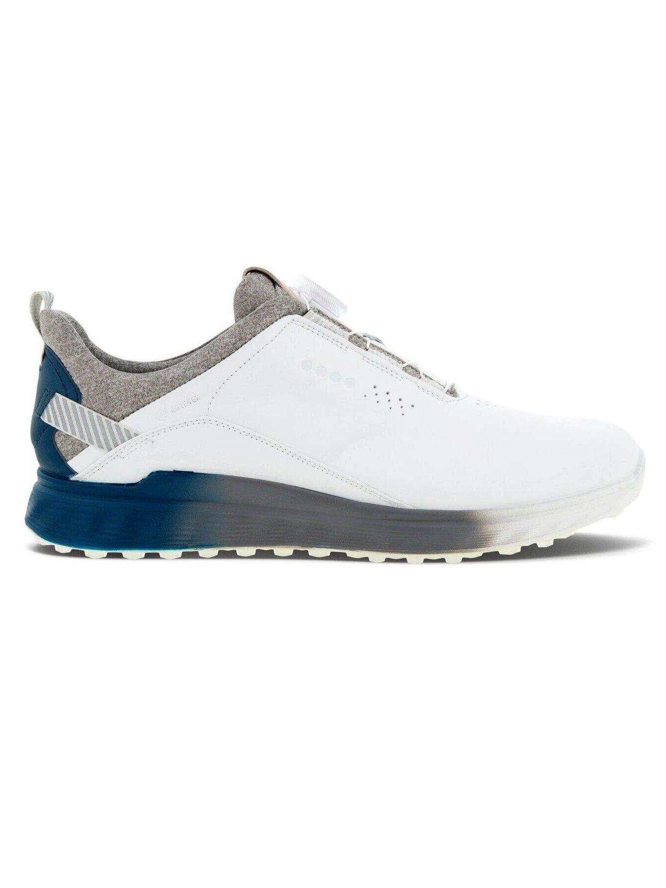 Ecco heren golfschoenen S-Three BOA wit