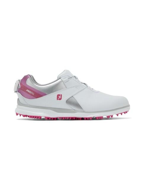 FootJoy dames golfschoenen Pro/SL BOA wit-roze