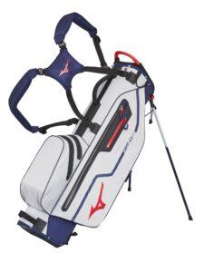 Mizuno golftas BR-DRI Stand Bag blauw-zilver-rood