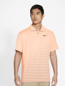 Nike heren golfpolo Dri-FIT Vapor Graphic oranje
