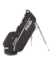 Ping golftas Hoofer Lite Stand Bag zwart-wit