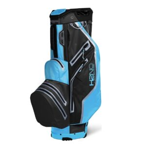 Sun Mountain golftas H2NO 14 Lite Cart Bag zwart-blauw