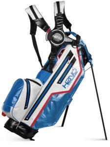 Sun Mountain golftas H2NO Lite 14 Stand Bag blauw-wit-rood