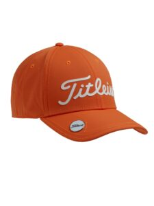 Titleist junior golfcap Performance met Ball Marker oranje
