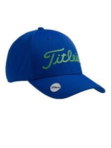 Titleist junior golfcap Performance met Ball Marker blauw