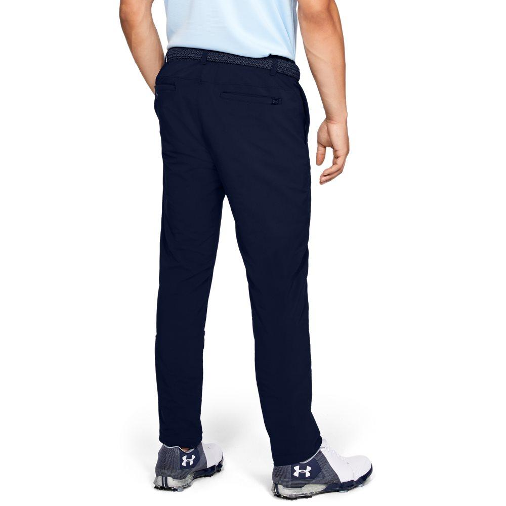 Under Armour heren golfpantalon Performance Slim Taper donkerblauw