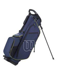 Wilson Staff golftas Prostaff Stand Bag navy-groen