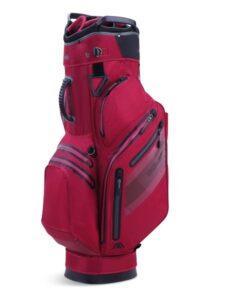 Big Max golftas Aqua Style 3 Cart Bag bordeaux rood