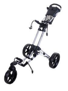 Fastfold golftrolley Flex 360 zilver