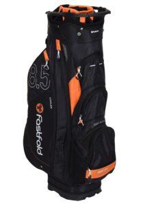 Fastfold golftas Cart Bag 8.5 zwart-oranje