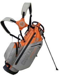 Fastfold golftas Challenger WP Stand Bag grijs-oranje