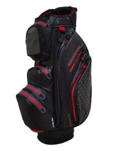 Fastfold golftas Hurricane WP Cart Bag zwart-rood