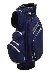 Fastfold golftas Hurricane WP Cart Bag navy-wit