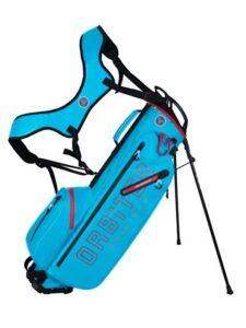Fastfold golftas Orbiter Rain Dry Stand Bag blauw-rood