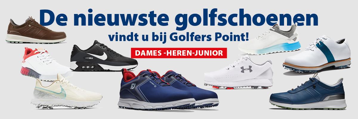 Nieuwe schoenen koop je bij Golfers Point Naarden