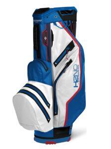 Sun Mountain golftas H2NO 14 Lite Cart Bag blauw-wit-rood