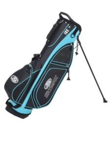 Skymax golftas Mini Ice stand bag zwart-blauw