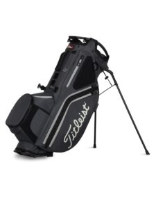 Titleist golftas Hybrid 14 Stand Bag grijs-zwart