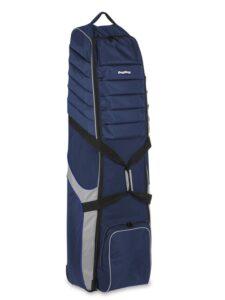 BagBoy golfreistas Travel Cover T-750 met wielen donkerblauw-grijs