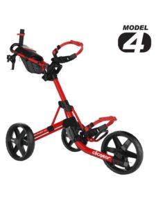 Clicgear golftrolley 4.0 mat rood