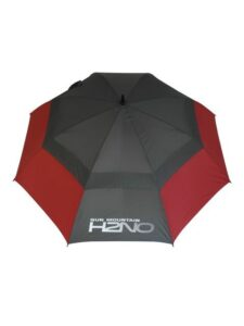 Sun Mountain golfparaplu H2NO rood-grijs