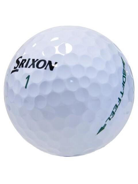 Srixon Soft Feel 6 pack golfballen wit