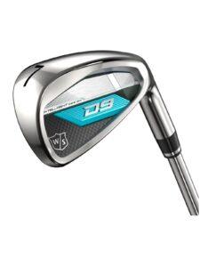 Wilson Staff dames golfset D9 graphite 6-PW+SW