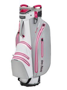 Bennington golftas Dry-Go DB Cart Bag zilver-wit