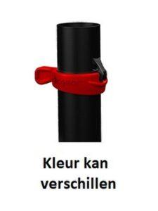 Clicgear golfparapluhouder met Siloconen band zwart