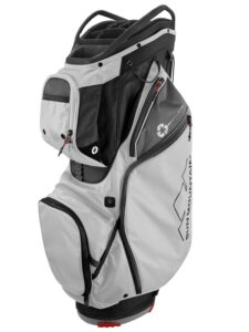 Sun Mountain golftas EcoLite 14 Cart Bag zwart-grijs