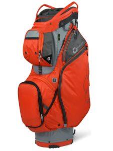 Sun Mountain golftas EcoLite 14 Cart Bag rood-grijs